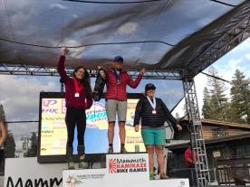 Podium, Kamikaze Bike Games